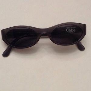 Chloe womens vintage sunglasses frames new brown